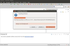 Instalando software